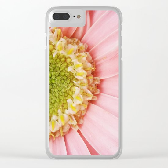 Flower #4 Clear iPhone Case