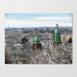 Frozen Portland, Maine (2) Canvas Print
