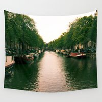 amsterdam Wall Tapestries featuring Amsterdam by iCapture Photography | Yasmin Said