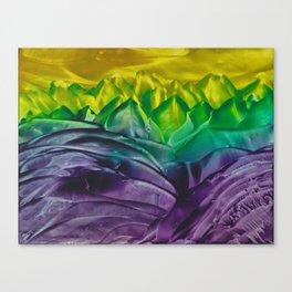 Amethyst Seas Canvas Print