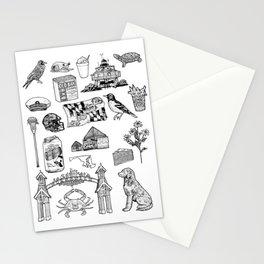 Maryland Flash Sheet Stationery Cards