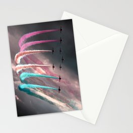 Colorful Smoke Stationery Cards