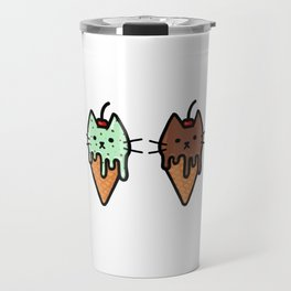 Kitty Ice Cream Travel Mug