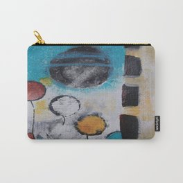 Morning Flowers Carry-All Pouch