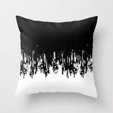 Meltdown Throw Pillow