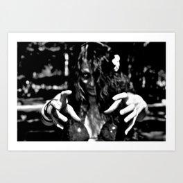 Undead Touch Art Print