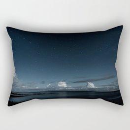 Night Coast Rectangular Pillow