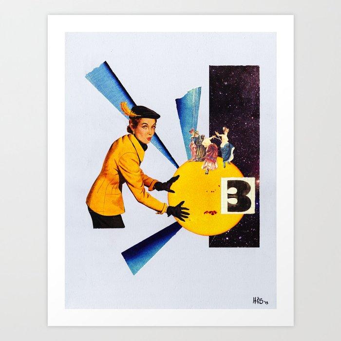 "Faith or Reason No. 3: ""The Problem of Evil"" Art Print"