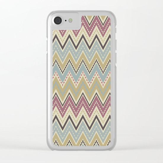 Ethnic patterns. Tribal pattern . Clear iPhone Case