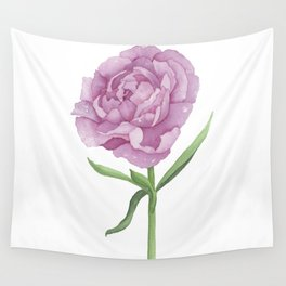 Permanent Peony Love Affair Wall Tapestry
