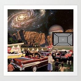 Drive-in Trippin Art Print