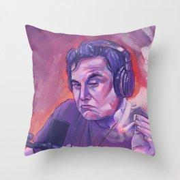 Elon Musk Throw Pillow
