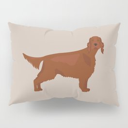 Irish Setter Pillow Sham
