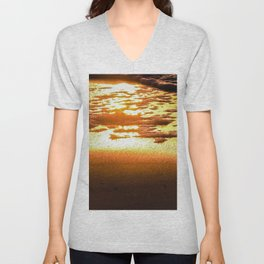 Sunshine Gold Unisex V-Neck