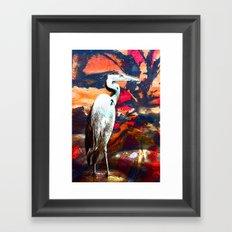 The Puller Framed Art Print