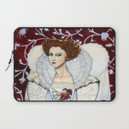 Elizabeth, the Virgin Queen, Queen of Hearts Laptop Sleeve