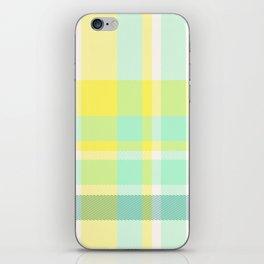 Summer Plaid 11 iPhone Skin
