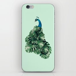 MONSTERA BIRD iPhone Skin