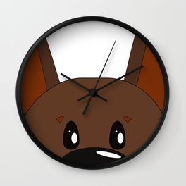 Dog 5 Wall Clock