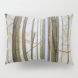 Botanical Allegory Pillow Sham