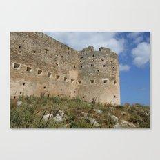 Mediterranean Fort Castle Canvas Print