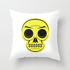 Teschio Throw Pillow