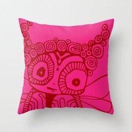 Pirouline Throw Pillow