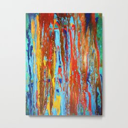 Abstract Composition 382 Metal Print
