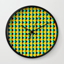 Retro print Wall Clock