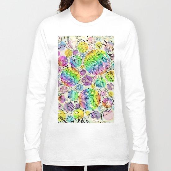 bursting bubbles are free Long Sleeve T-shirt
