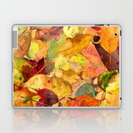 The Fall Forest Floor Laptop & iPad Skin