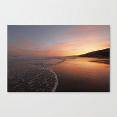 Last light at Dusk Canvas Print