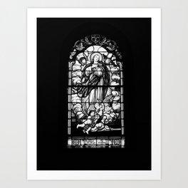 Centralia Window Art Print