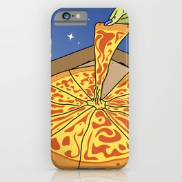 Sky Pizza Delivery Service iPhone Case