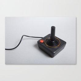 Atari joystick Canvas Print