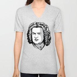 Bach Portrait Unisex V-Neck