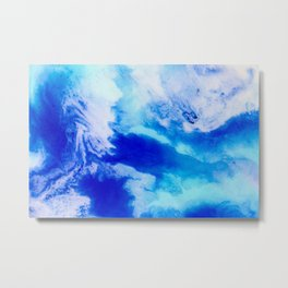 Cloud watching Metal Print