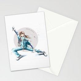 Ninja Nurse Stationery Cards