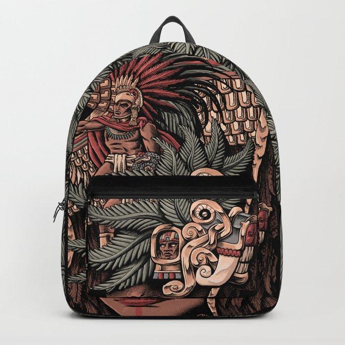 Aztec Eagle Warrior Backpack