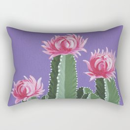 Violet With Envy Rectangular Pillow