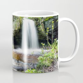 Scott Falls in Spring - Au Train Michigan Coffee Mug