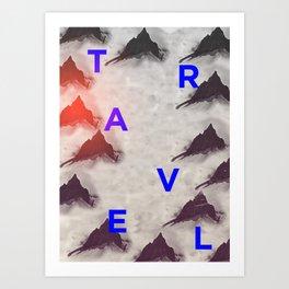 Fjell Art Print