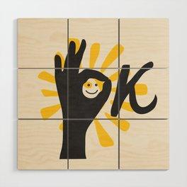 OK Wood Wall Art