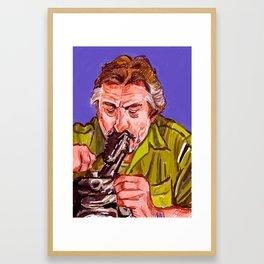 DeNiro in Jackie Brown Framed Art Print
