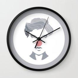 Pastel Clown Wall Clock