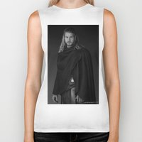 thor Biker Tanks featuring Thor by E Cairns Art