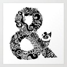 &&& Art Print
