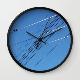 The Line Between Wall Clock