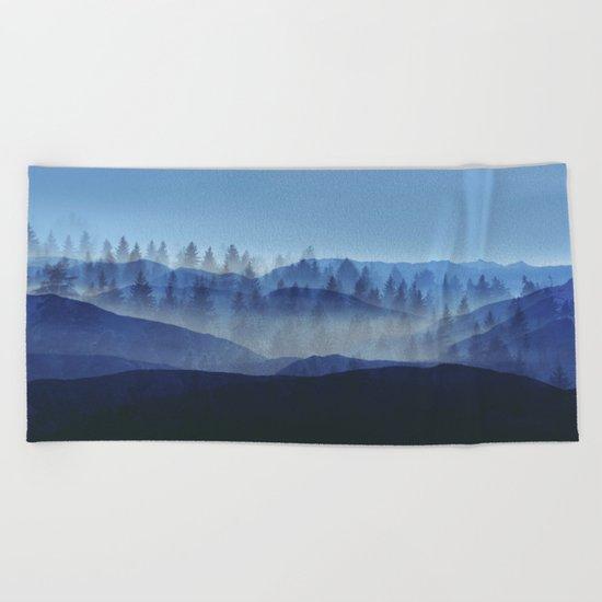 Woods Glory PQ Beach Towel