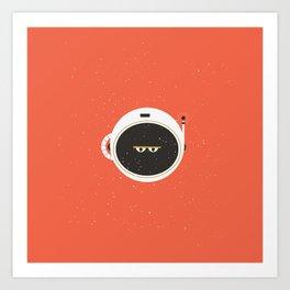 The Spaceman on Mars Art Print